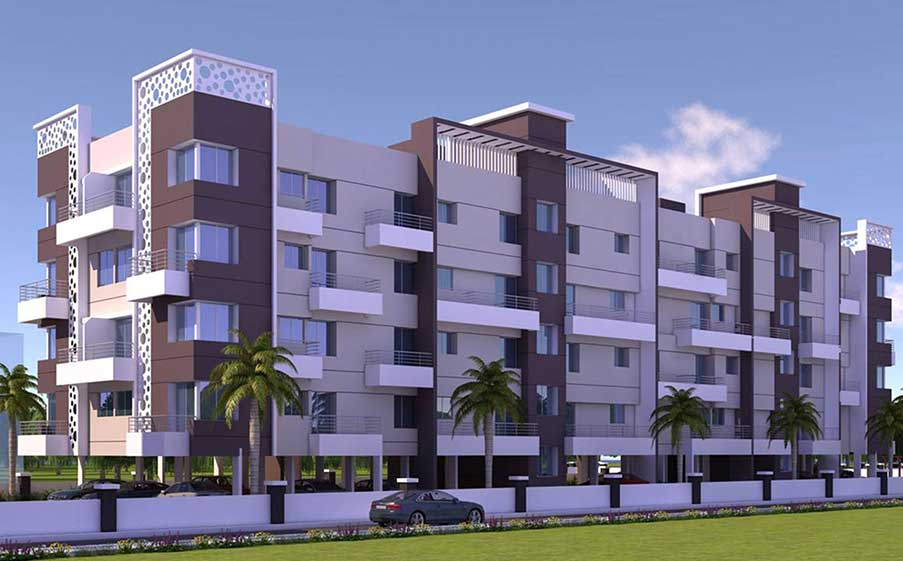 Residential 3D architectural visualization Pune